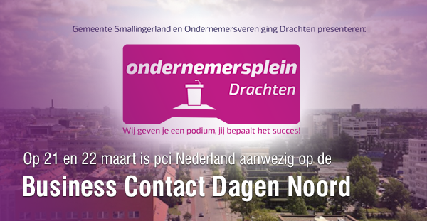Pci Nederland op Business Contact Dagen Noord